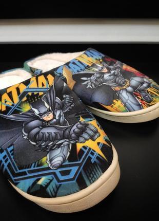 Тапочки бэтмен