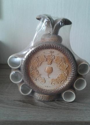 Коньячный набор керамический подарочный