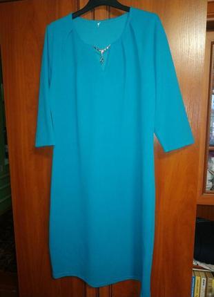 Элегантное платье 52 размера