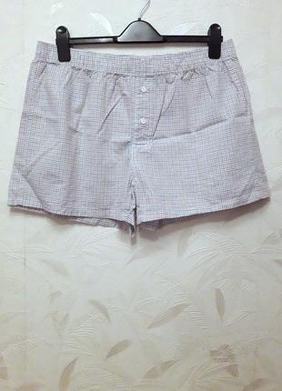 Тонкие домашние шорты, трусы, 50-52, хлопок, h&m