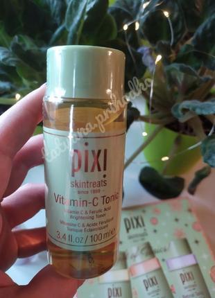 Тоник для лица с витамином c pixi vitamin-c tonic