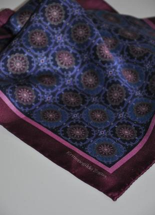 Шийна шовкова хустинка платок ermenegildo zegna