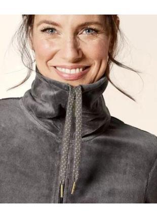 Роскошный качественный натуральный велюровый костюм esmara премиум качество s-m-l