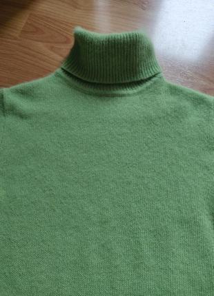 Гольф свитер джемпер водолазка ангора шерсть