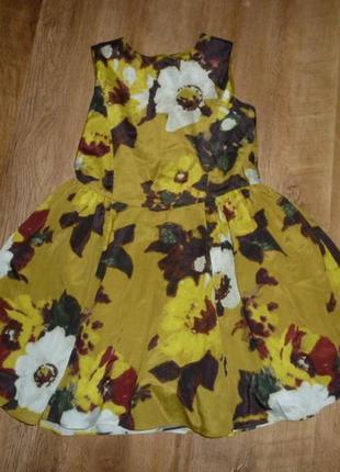 Нарядное платье на 6-7 лет от marks&spencer