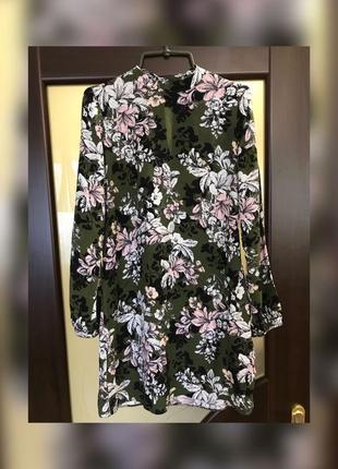Жіноча сукня в квітковий принт
