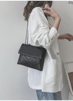 Стильная сумка на два отделения
