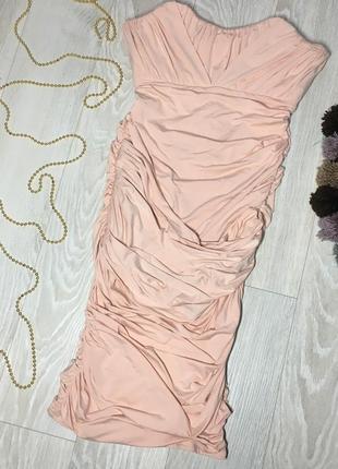 Платье миди от oh polly с открытыми плечами
