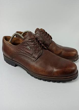 Туфли, полуботинки lloyd vaduz gore-tex размер 45 (29,5 см.)