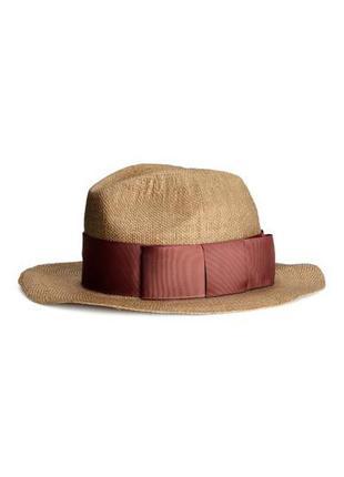 Соломенная шляпа 100% бумажная соломка