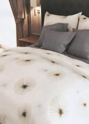 Постельное белье комплект бязь одуванчик полосочка