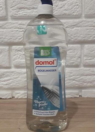 Жидкость для паровых утюгов морская свежесть 1 л тм домол германия