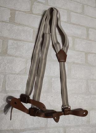 Подтяжки с креплениями для пуговиц.  длина от 86см до 132см