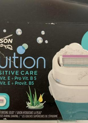 Сменные кассеты для бритья wilkinson sword intuition coconut milk & almond oil