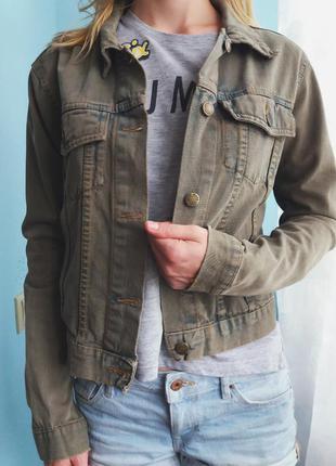 Крутая джинсовая куртка kappa