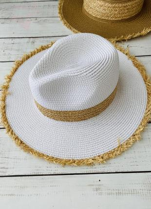 Шикарная шляпа,шляпа летняя ,канотье