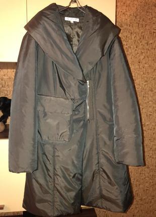 Martine douvier шикарное пальто/куртка-косуха люкс