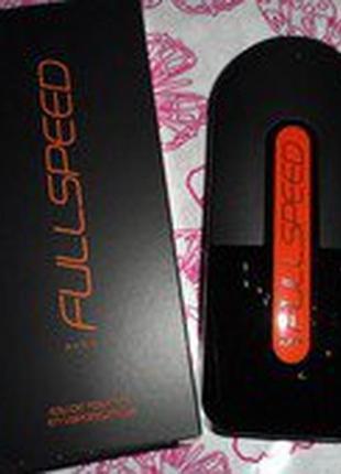 Парфюмерно-косметический набор из 2х продуктов в подарочной упаковке full speed
