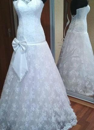 Распродажа! свадебное платье новое