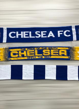 Футбольный шарф челси (fc chelsea)