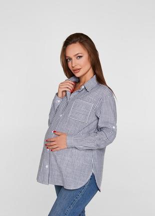 Рубашка oversize для беременных
