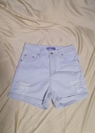 Шорты джинсовые шорты шортики летние шорты белые шорты