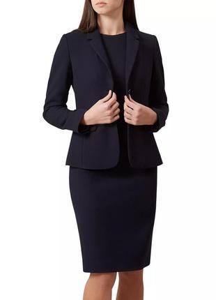 Деловой костюм троечка платье юбка пиджак