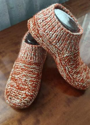 Домашние носки-сапожки р.38-40