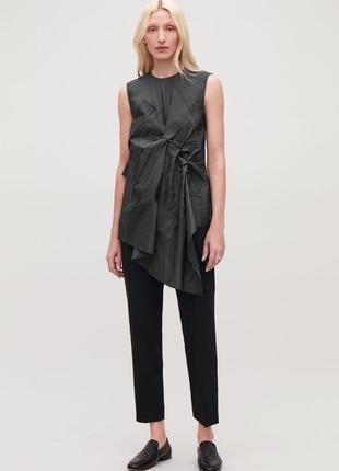 Блуза cos (27% шелка)