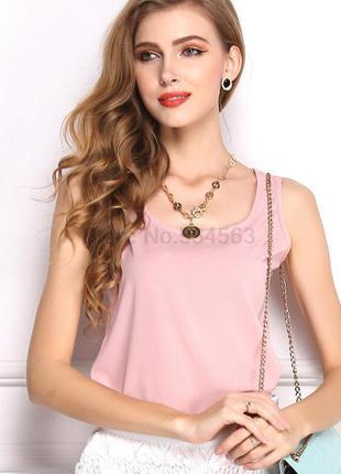 Блуза цвета пудры