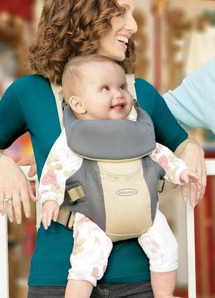 Ерго-рюкзак, кенгуру, переноска infantino comfort rider