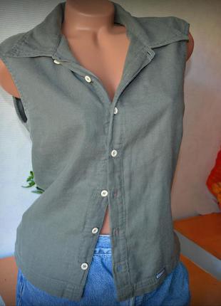 Блуза diesel, супер качество, цвет серо-оливковый,снижена цена  на все вещи!
