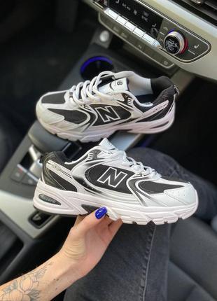 New balance 530 спортивные женские кроссовки черные