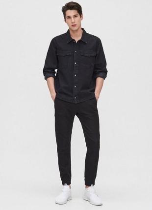 Клевые джинсовые джоггеры cropp