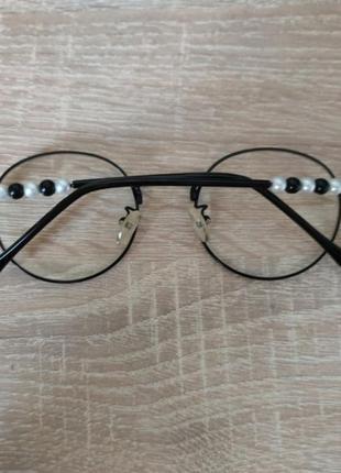 Очки иммедживие с прозрачными стёклами