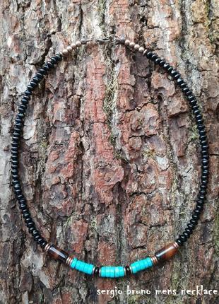 Sergio bruno mens necklace (италия)ручная работа