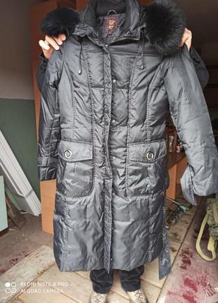 Фирменное зимнее пальто/пуховик snow owl