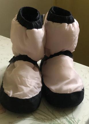 Взуття спортивне для розігріву уггі bloch англія роз 35/36. чудовий стан