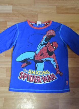 Кофта, реглан человек паук на 11-12 лет