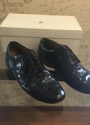 Брендовые кожаные туфли оксфорд d&g оригинал