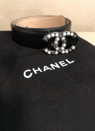 Chanel- женский кожаный ремень