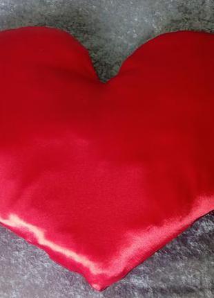 """Декоративная подушка""""сердце"""""""