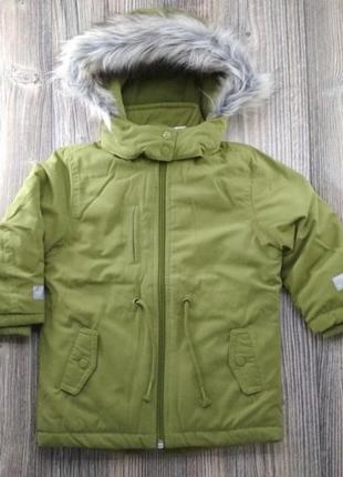 Парка куртка евро-зима lupilu парка сток р 98, 110