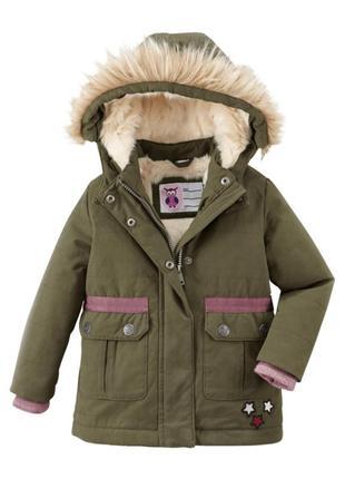 Куртка парка для девочки pocopiano германия 86-92