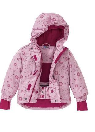 Crivit pro зимняя термо куртка для девочки 110-116