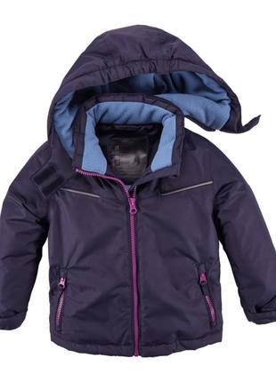 Деми куртка для девочек pocopiano германия  110-116