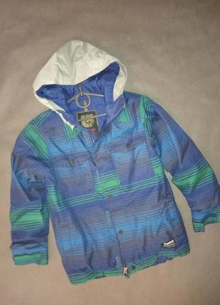 Детская сноубордическая лыжная куртка курточка лыжная