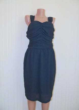 Красивое черное платье от next