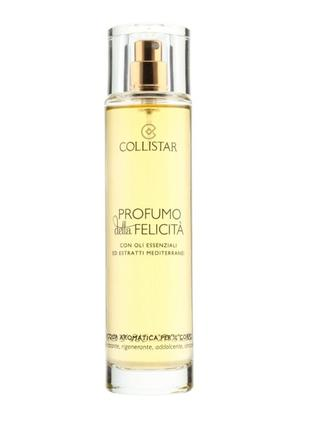 Ароматическая вода profumo della felicita collistar с эфирными маслами, 100 мл
