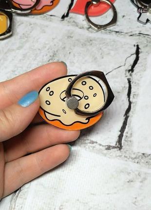 Кольцо держатель для телефона пончик